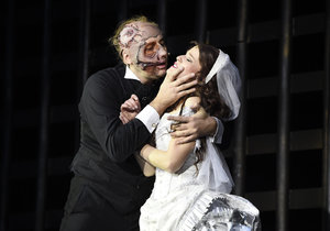 Marian Vojtko a Michaela Gemrotová se těžce loučili s muzikálem Fantom opery.