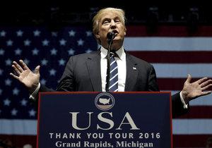 Donald Trump chce mít dobré vztahy s Ruskem. Není nakloněn sankcím.