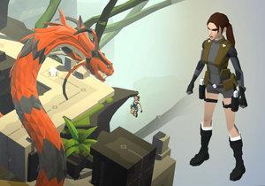 Lara Croft je vítaným přírůstkem do série videoher Tomb Raider.