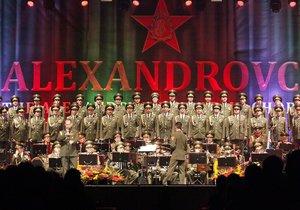 Armádní soubor Alexandrovci vystoupí v květnu v Česku.