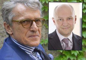 Radim Passer (vpravo) je rád, že může poskytnout azyl Petru Robejškovi a jeho Realistům.