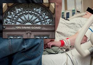 Spor o odškodnění za smrt paní Milady po porodu vrátil Ústavní soud k novému projednání.