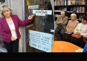 Knihkupectví pana Ryšavého v Brně končí kvůli Národnímu památkovému ústavu.