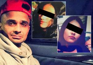 Gabor Hegedus byl obviněn z usmrcení dvou českých dívek za volantem.