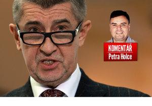 Vicepremiér Andrej Babiš (ANO) a komentátor Petr Holec