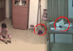 Poltergeist straší malou dívenku. Odhalily ho kamery.