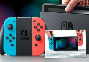 Konzole Nintendo Switch vyjde již v březnu.