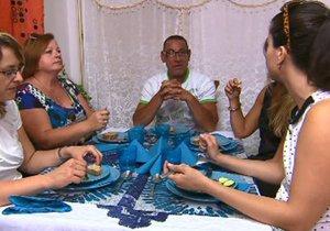 Jan Nesvorný překvapí soupeřky u stolu svou orientací.