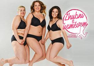 Nový pořad Zhubni s úsměvem: Co na své postavě nesnáší modelky boubelky Lucie, Bára a Markéta?