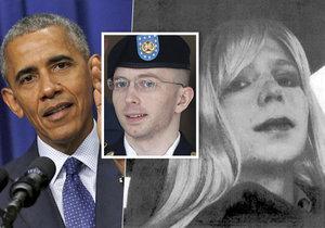 Obama zmírnil trest Chelsea Manningové.