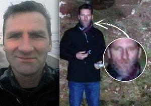 Andrew Alexander uviděl na fotce, jak mu duch přičaroval strašidelné vousy ze střeodvěku.