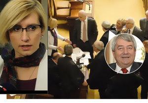 Ostrá hádka ve Sněmovně: Šlechtová se pustila do komunisty Filipa.