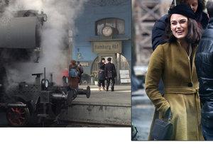 Pražské hlavní nádraží se změnilo k nepoznání. Filmaři z něj udělali nádraží v Hamburku po 2. světové válce.