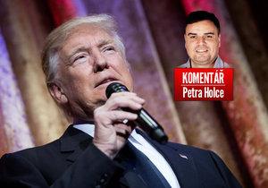 Nastupující americký prezident Donald Trump pohledem komentátora Petra Holce
