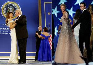 Nový prezident Spojených států Donald Trump se po páteční inauguraci zúčastnil s manželkou Melanií tří inauguračních plesů. Na dvou z nich si zatančili na píseň My Way, kterou zpopularizoval Frank Sinatra. Připojili se k nim také viceprezident Mike Pence se ženou Karen a členové Trumpovy rodiny.