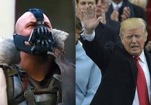 Citoval Trump ve své inaugurační řeči padoucha Banea?