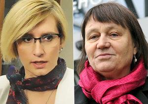 Ministryně Šlechtová s ombudsmankou Šabatovou se ve středu sejdou na vládě.
