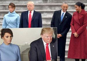 Smutná a zanedbávaná Trumpova žena: Byla Melania při inauguraci vůbec šťastná?