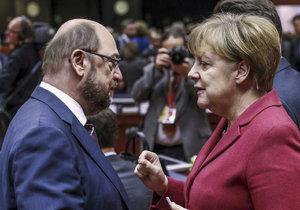 """Vyzyvatel Merkelové: Martin Schulz, bývalý šéf europarlamentu, má ve volbách """"zavařit"""" německé kancléřce"""