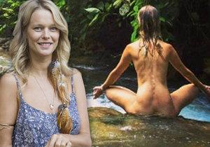 Éterická královna lesů a moří Houdová adoruje menstruaci: Je to posvátný dar