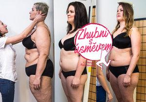 Holky Lucie, Markéta a Bára podstoupily měření tuků, svalů, kostí a poměr vody v těle.