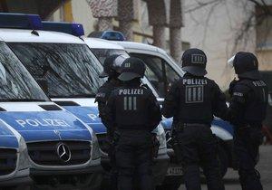 Německá policie v akci proti islamistům