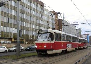 V Zahradním městě by měla vzniknout nová tramvajová smyčka. (ilustrační foto)