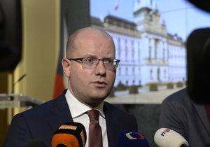 Premiér Sobotka (ČSSD)
