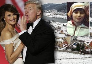Odkud pochází americká první dáma Melania Trump?