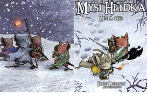 Zamilovali jste si komiksové myší hrdiny Davida Petersena? Po podzimním dobrodružství přicházejí myšáci znovu v ještě lepším příběhu! • Myší hlídka 2: Zima 1152