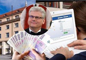 Ministerstvo zdravotnictví pod vedením Miloslava Ludvíka shánělo firmu na správu sociálních sítí 250 tisíc korun měsíčně