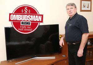 """""""Raději si připlatím, abych měl delší záruku,"""" říkal si pan Zdeněk Marek při nákupu nové televize. Jaké bylo ale překvapení, když přestala fungovat a pan Zdeněk začal řešit reklamaci."""