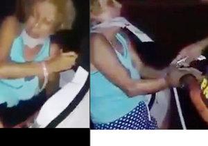 Policisté zachránili unesenou ženu z kufru auta.