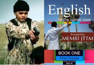 Děti Islámského státu se učí anglicky ze speciální učebnice.