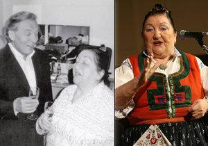 Královna lidovek Jarmila Šuláková (†87): Za co vynadala Karlu Gottovi?