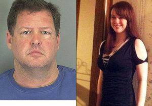 Todd Kohlhepp držel Kalu Brown v kontejneru svázanou jako zvíře. Denně ji dvakrát znásilňoval.