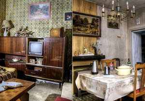 Opuštěný dům v Belgii, kde se zastavil čas.