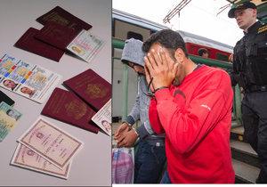 Nelegální migranti v Česku buď doklady nemají vůbec, nebo předkládají padělky. Stále častěji rumunských občanek.