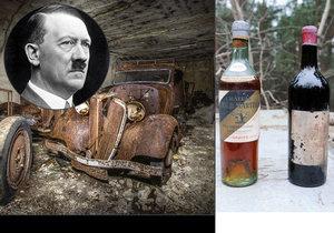 Ve Francii našli hotové poklady, které ukrývali během druhé světové války před Adolfem Hitlerem.