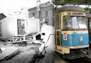 Uplynulo 35 let od největší tramvajové nehody v Praze.