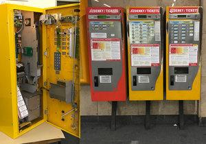 Automaty na jízdenky v pražské MHD. Takto vypadají jejich útroby.