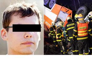 Hasič Lukáš zemřel při děsivé nehodě.