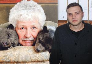Syn režiséra Václava Chaloupka sedí ve vězení za loupež. Jak se mu tam daří?