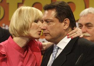Petra Paroubková odešla od manžela.
