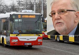 Ke stávce autobusáků není důvod, spor o mzdy se vyřeší, míní šéf zaměstnavatelů