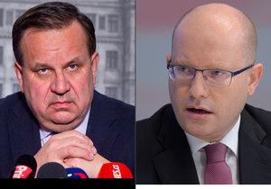 Premiér Bohuslav Sobotka (ČSSD) detailněji promluvil o tom, proč končí ministr Mládek