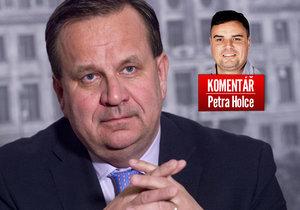Do Polska si teď pojede zavolat Mládek, míní komentátor Petr Holec.