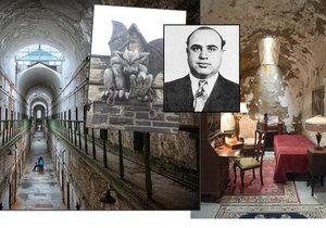 Vězni tu přicházeli o rozum na samotkách a skončil tu i Al Capone: Opuštěná věznice nahání strach.