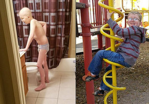 Drake Medinger porazil leukémii, nyní bojuje s rakovinou varlat. Jeho šance na přežití jsou nejisté.