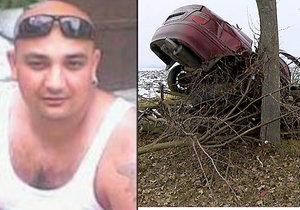 Děsivá nehoda: Saša (†31) si koupil nové auto, první cestu s ním ale nepřežil.